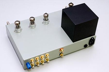 Phono-Line-Verstärker Rückansicht