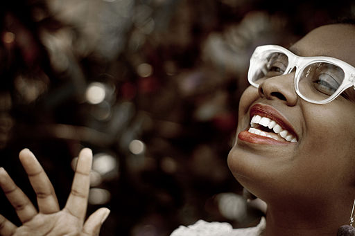 Cecile McLorin Salvant - by Miami6205 (Own work) [CC BY-SA 3.0 (http://creativecommons.org/licenses/by-sa/3.0)], via Wikimedia Commons