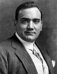 Enrico Caruso, Quelle: Wikimedia Commons, public domain