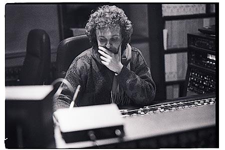 der Musiker und Produzent Mick Franke 1986 © by Michael Münch