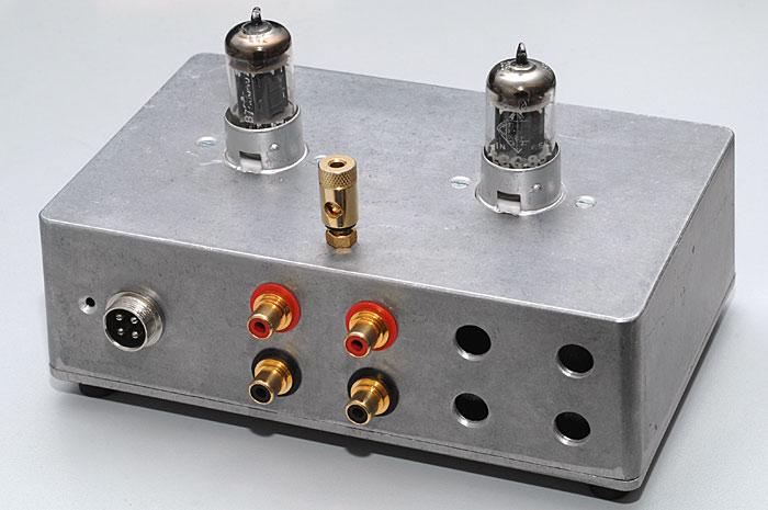 Phonovorverstärker mit ECC83