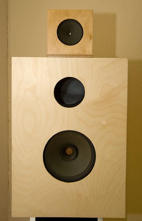 Lautsprecherbox - komplett mit Hochtöner