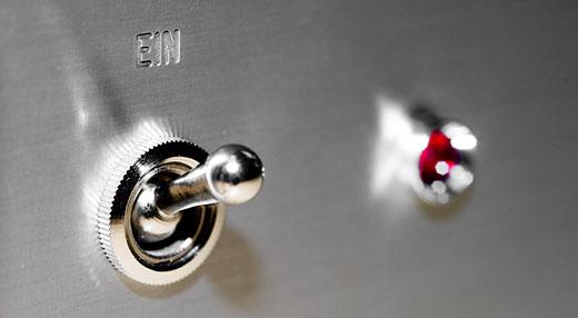 Ein/Aus - Foto © by Michael Münch