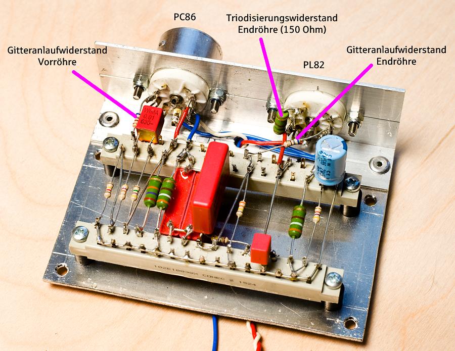 ein fertiges Verstärker-Modul