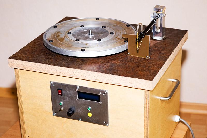 Gesamtansicht Plattenwaschmaschine