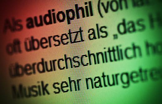 audiophil Symbolfoto