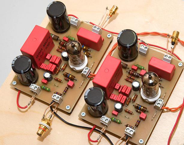 Phonovorstufe mit E88CC