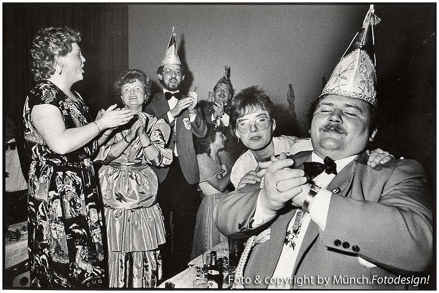 Sitzungs-Karneval, ca. 1985