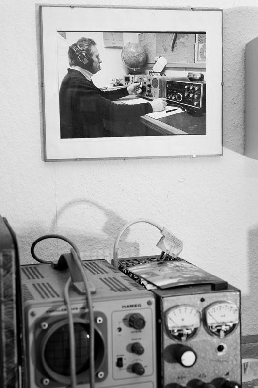Wim auf einem Foto, das ich 1980 von ihm gemacht habe