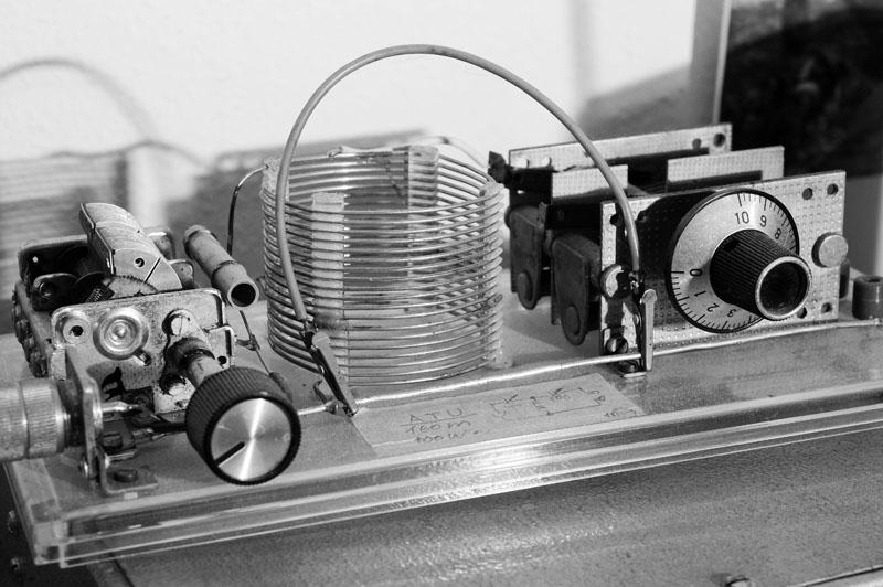 Antennenanpassgerät für das 160m-Band, Aufbau DL3XH