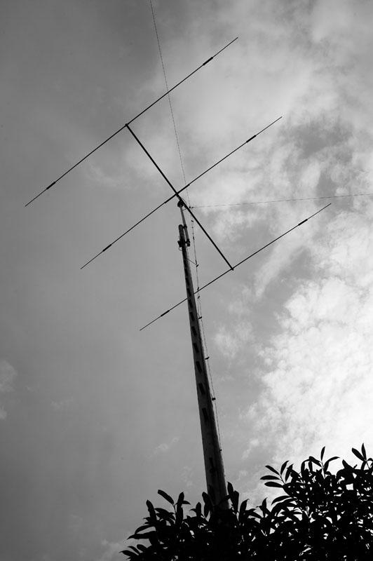 Antennenmast bei DL3XH