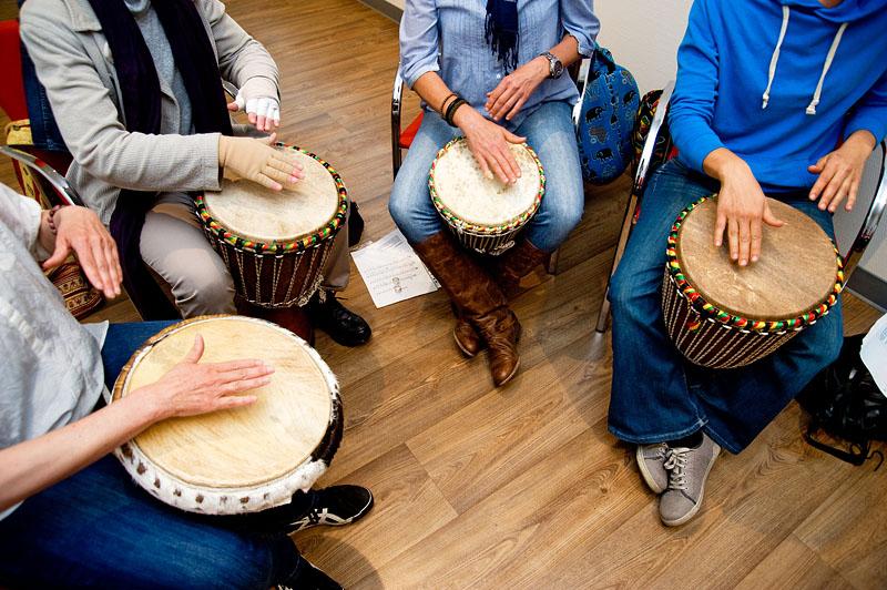 Musik, eingesetzt in der Therapie - Foto & © by Michael Münch