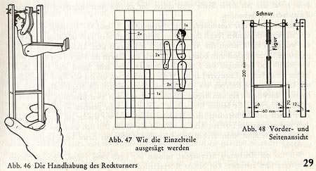 aus: Werkbuch für Jungen © Otto Maier Verlag Ravensburg 1965