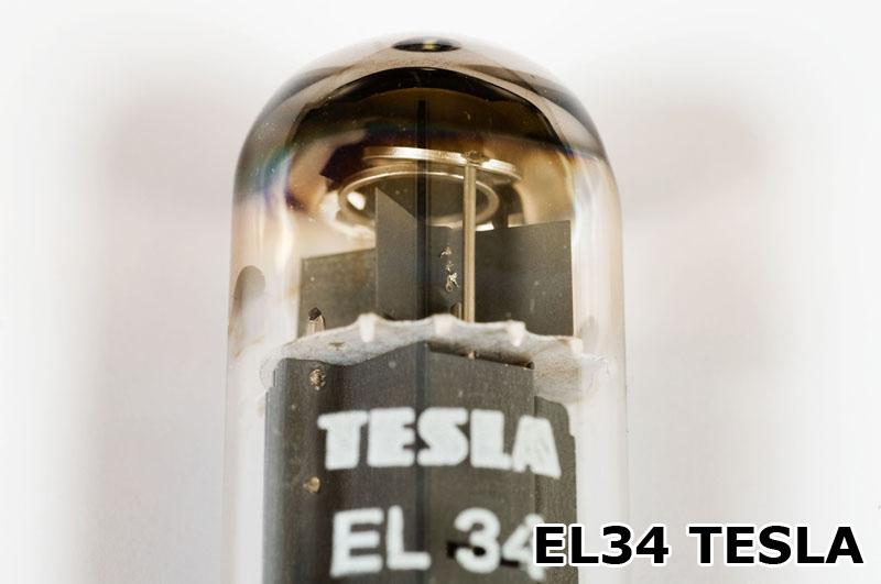 EL34 TESLA - Blick aufs Getter