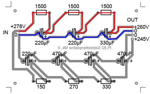 PL82 Siebkettenplatine, neue Version