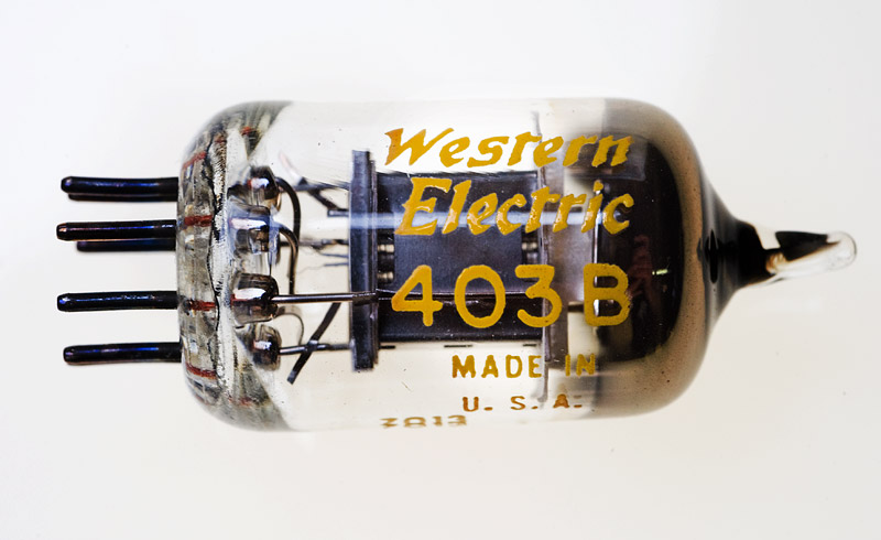 Western Electric WE403B - Foto & © by Michael Münch