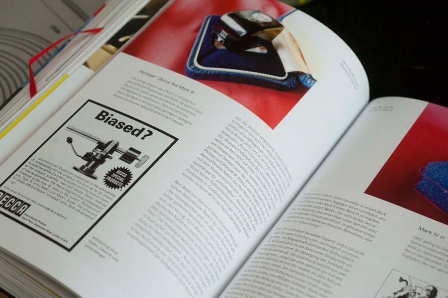 Buch Thorens TD124 Spieler Geschichte Historie Garrad Lenco Details Original Werbung