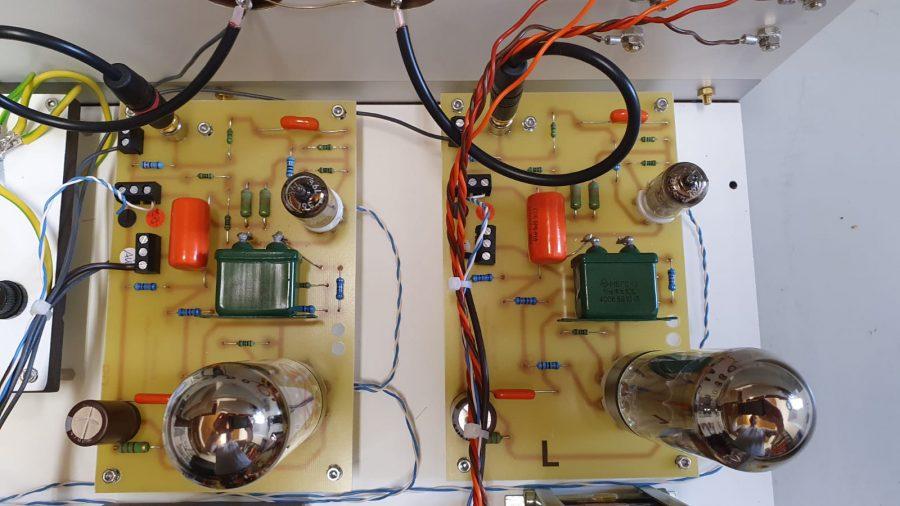 nochmal die beiden Verstärker-Module - Foto: Y. Herzberg